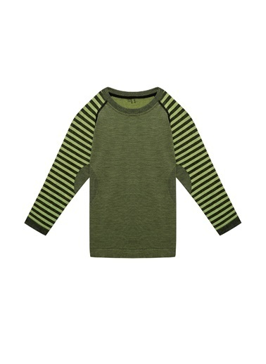 Thermoform Sweatshirt Yeşil